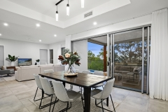 Custom New Home - Dining and Living